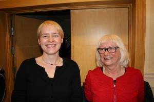 Gunhild johansen og Ingrid Kielland er Tromsø SVs kommunestyrerepresentanter