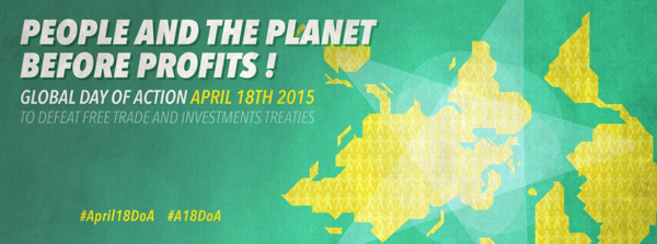 Åpent møte mot TISA og TTIP