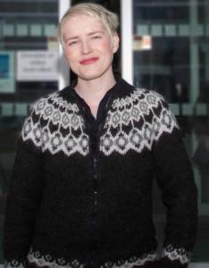 Ingrid Kielland er SVs medlem i formannskapet og er bekymra for den sosiale profilen i budsjettet.