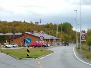 Her på grensa mellom Noreg og Russland ved Storskog er det komen mange asylsøkjarar i haust